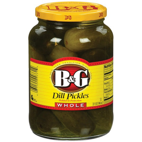 B&G Whole Dill Pickles