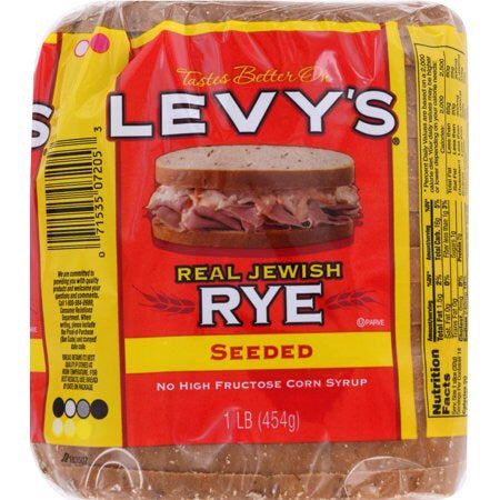 Levys Seeded Real Jewish Rye