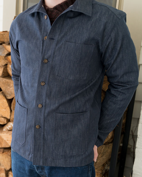 French Workers Jacket Denim