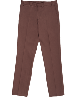 Straight Walnut Brown Pant