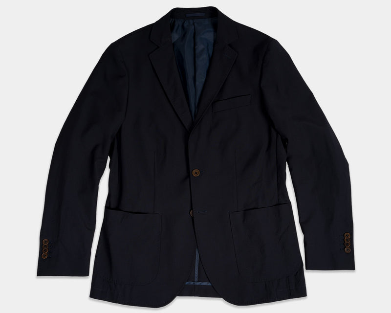 Jet Navy Washable Jacket
