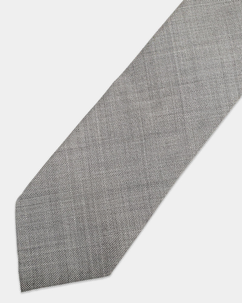 Grey sharkskin tie (Sale)