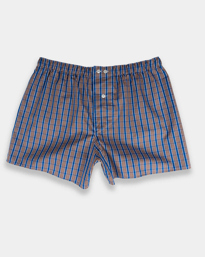 Blue Pine Boxer Shorts