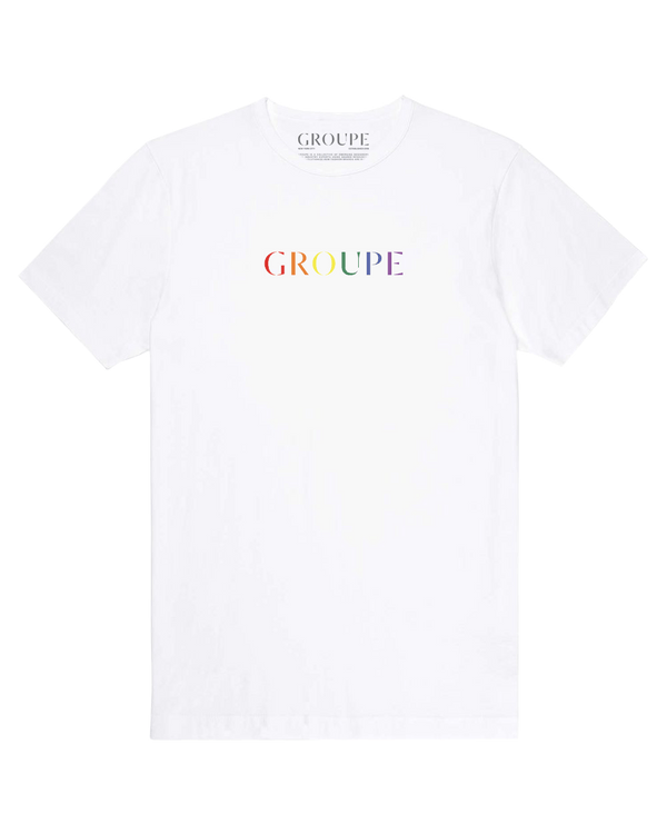 Groupe Pride White Tee Shirt