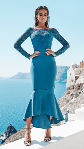 DIANA DRESS BLUE