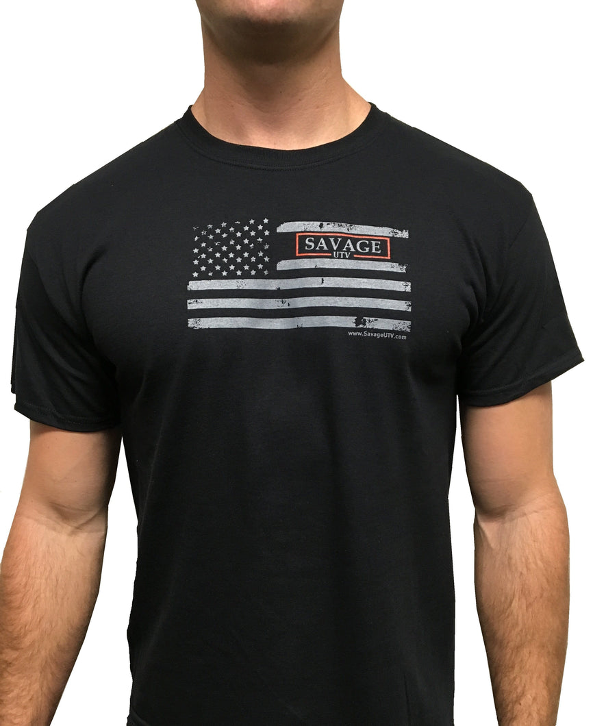 Savage USA Flag T-Shirt