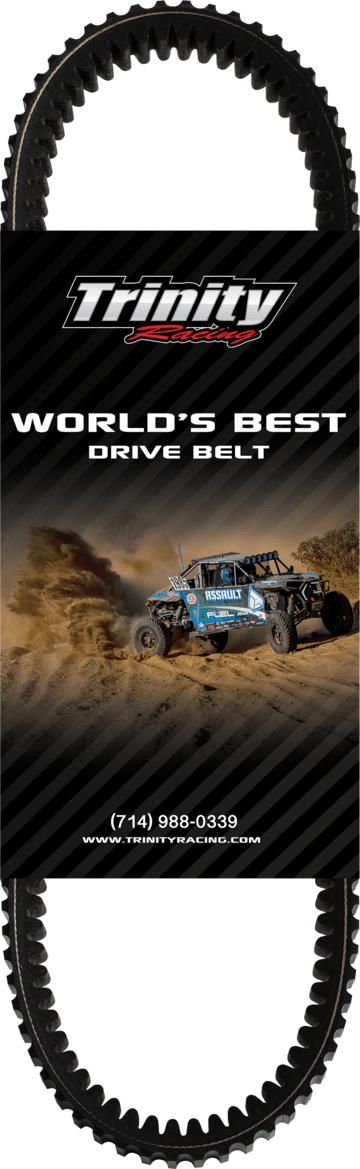 Trinity Racing Belt - WORLDS BEST BELT - RZR PRO XP