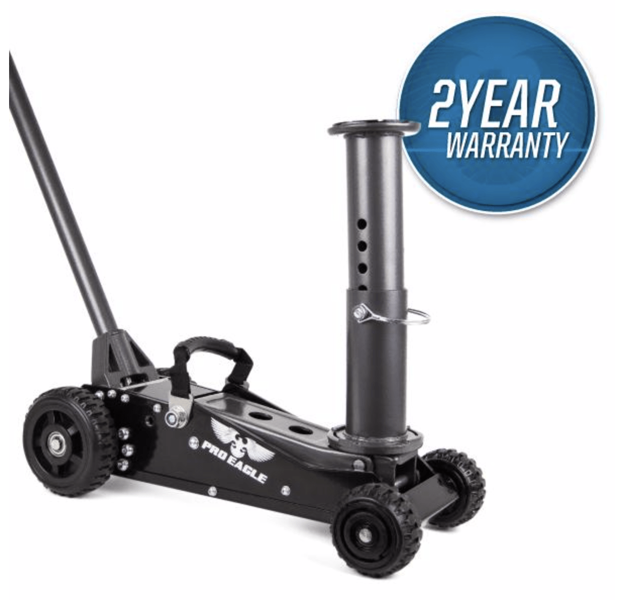 "1.5 TON BIG WHEEL OFF ROAD JACK - ""TALON"""
