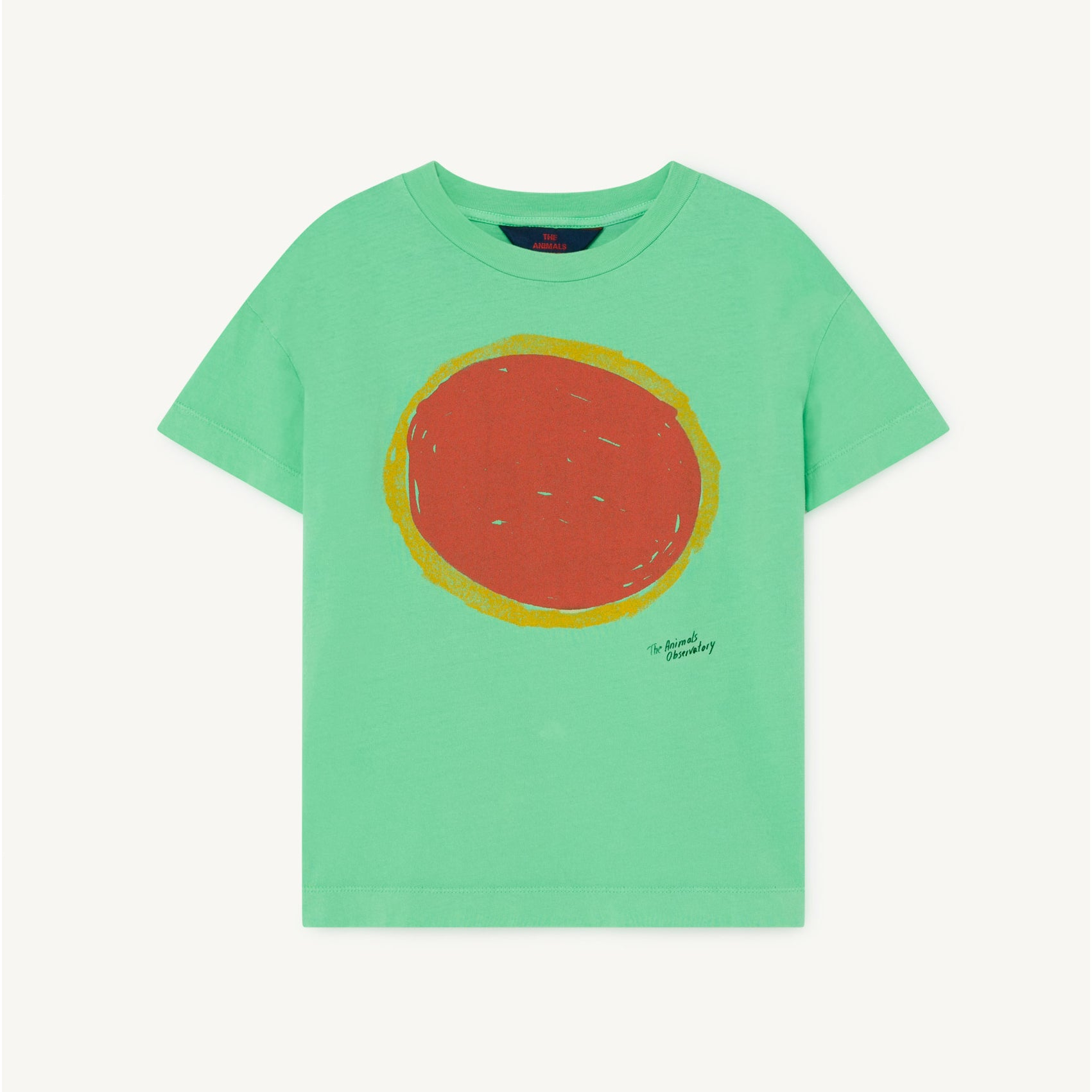 The Animals Observatory rooster tee, green sun
