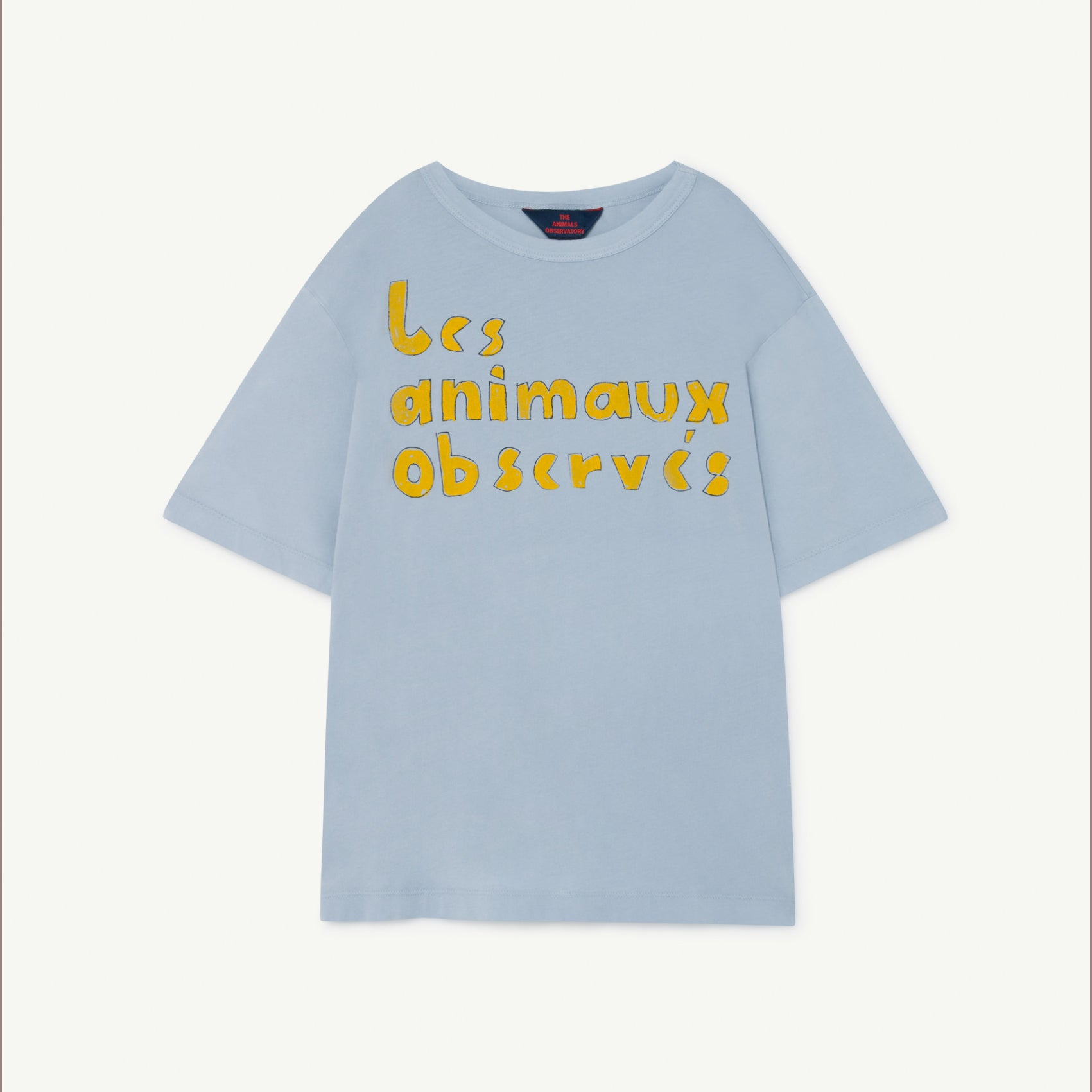 The Animals Observatory rooster oversize tee, blue les animaux