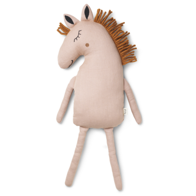 Ferm Living horse tyyny, dusty rose