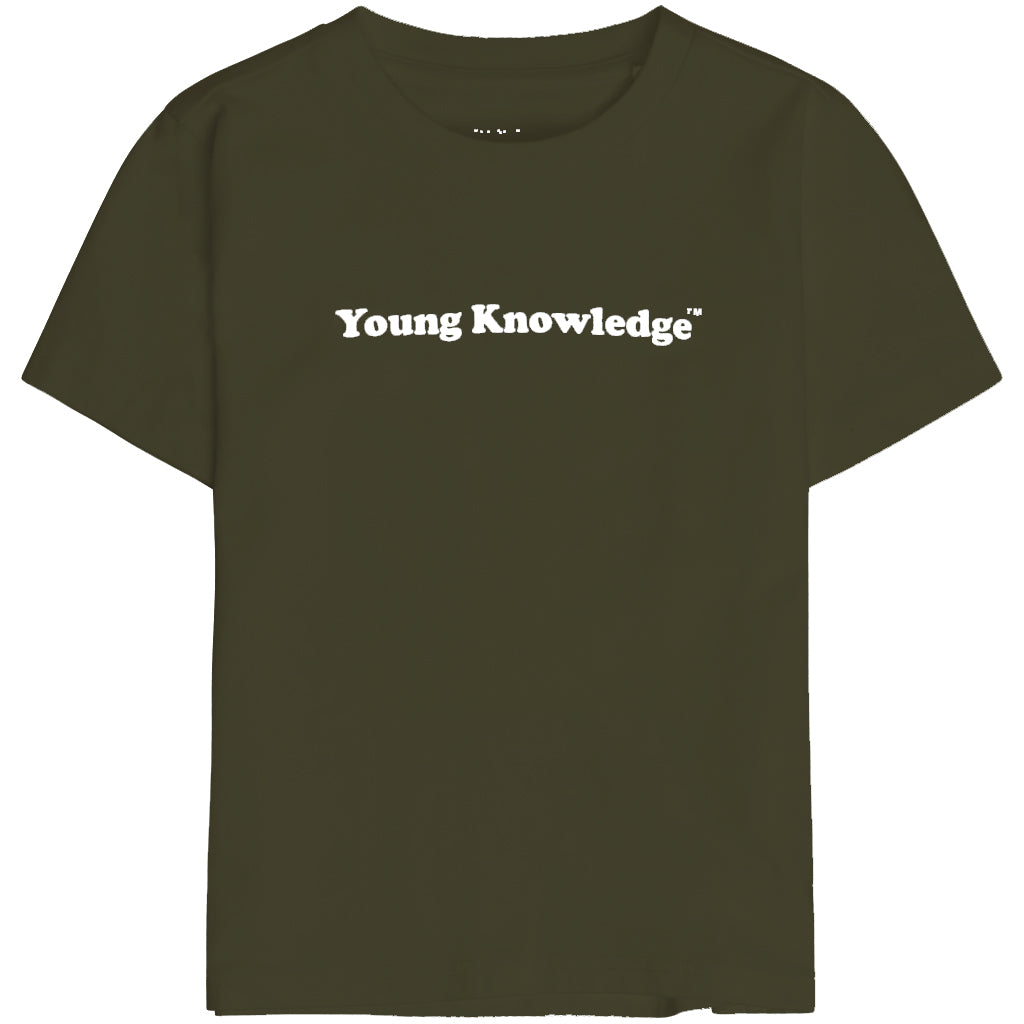 Knowledge Cotton flax young knowledge tee, forrest night