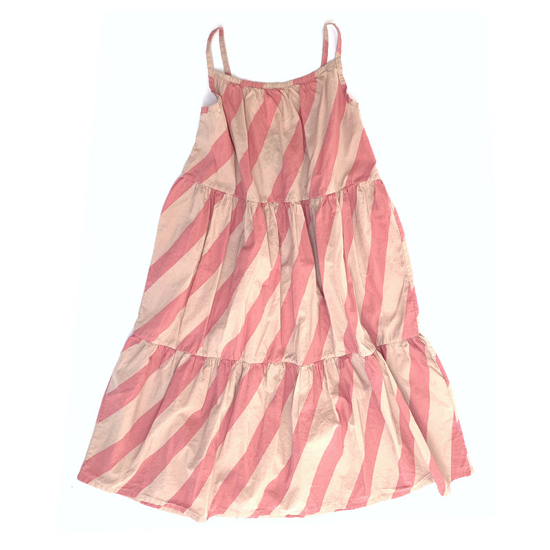 Long Live The Queen candy stripe mekko, pink stripe