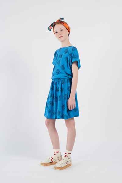 Bobo Choses all over pineapple tee, azure blue
