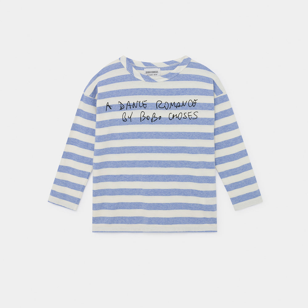 Bobo Choses a dance romance striped paita, blue striped