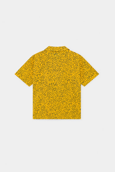 Bobo Choses all over leopard kauluspaita, spectra yellow