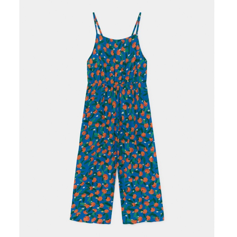 Bobo Choses  all over oranges woven kokopuku, azure blue