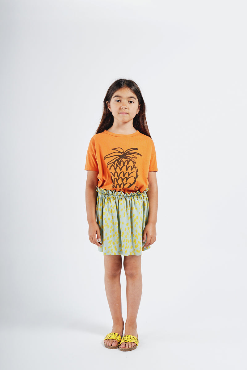 Bobo Choses animal print jersey hame, frosty green