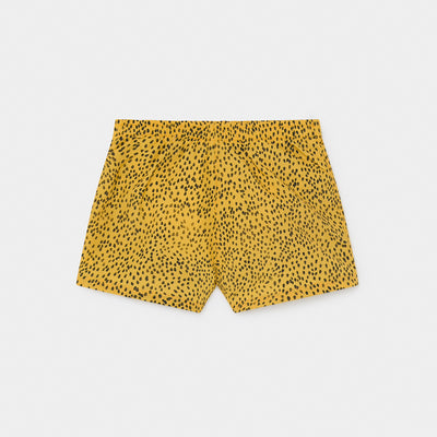 Bobo Choses all over leopard uimashortsit, spectra yellow
