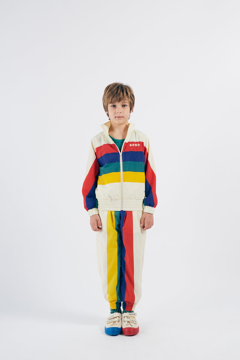 Bobo Choses multicolor tracksuit takki, turtledove