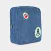 Bobo Choses patches school bag reppu, azure blue