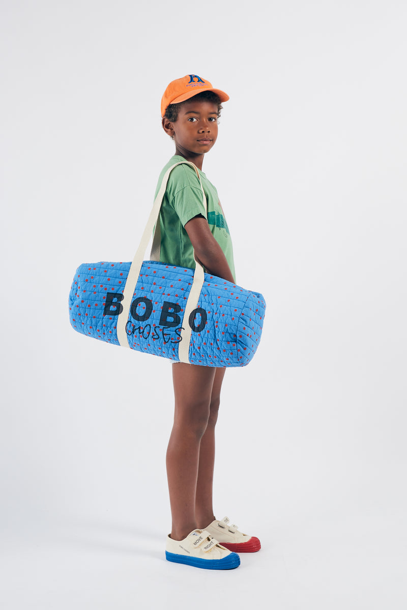 Bobo Choses dots sport bag kassi, azure blue