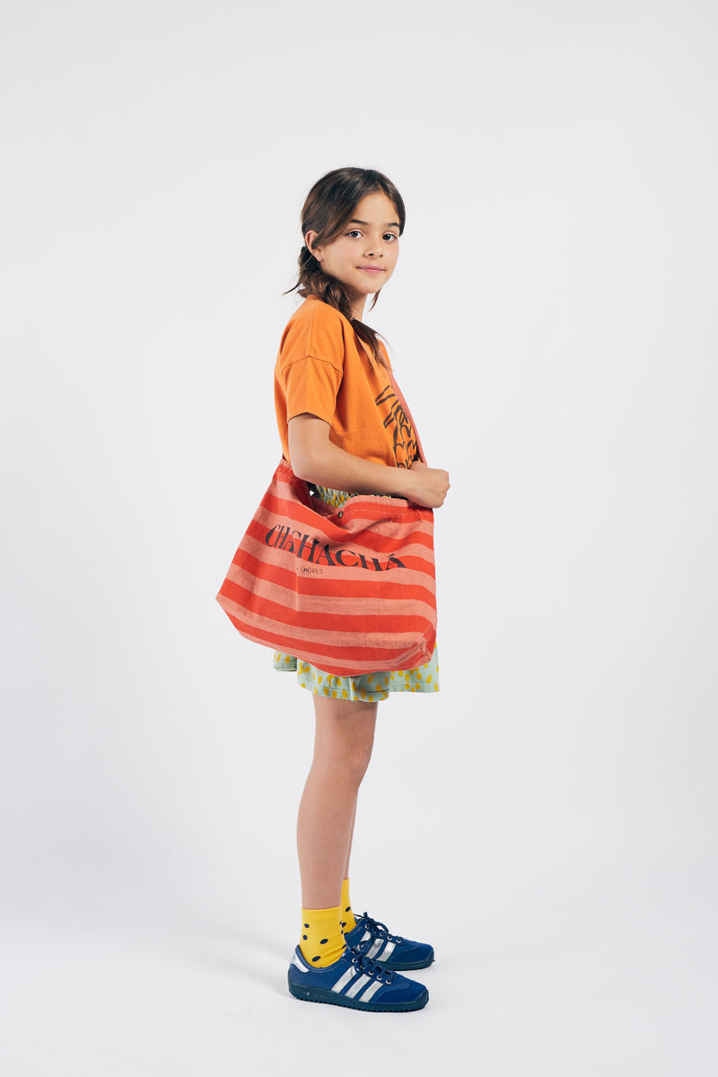 Bobo Choses chachacha tote bag kassi, celosia orange