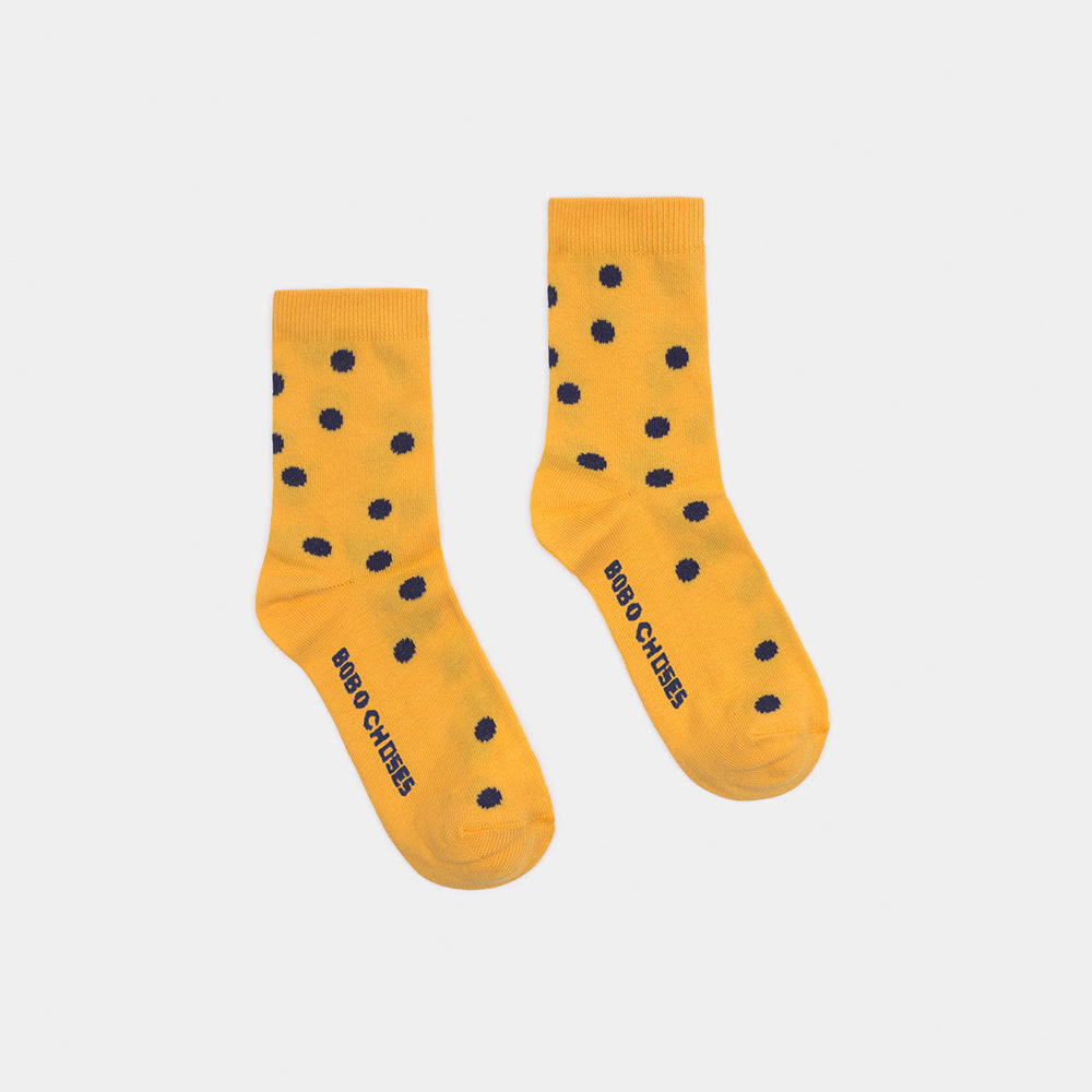Bobo Choses dots short sukat, spectra yellow