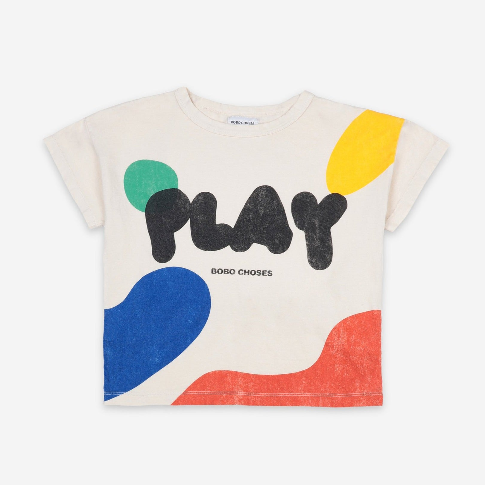 Bobo Choses play landscape tee, turtledove