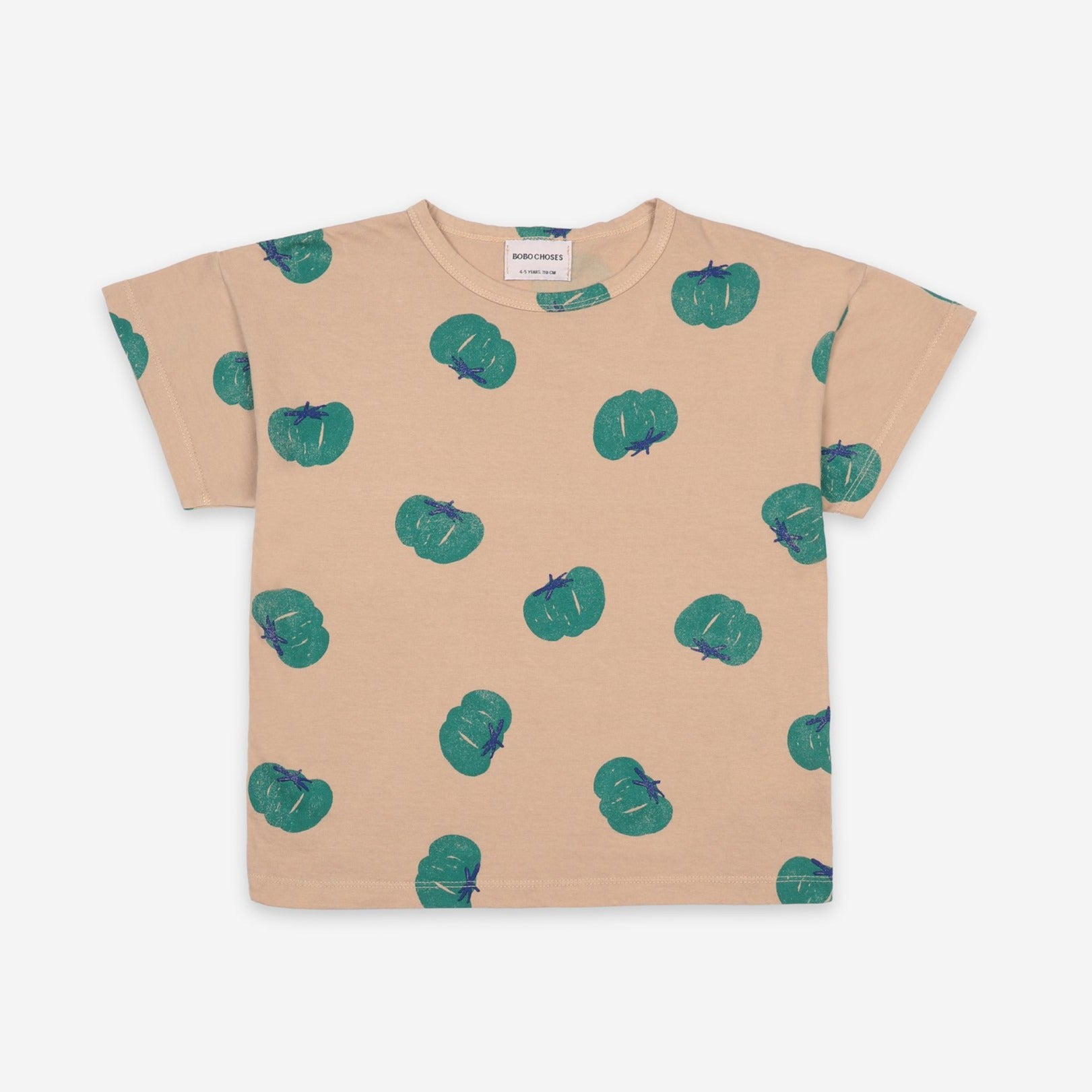 Bobo Choses tomatoes aop tee, brush
