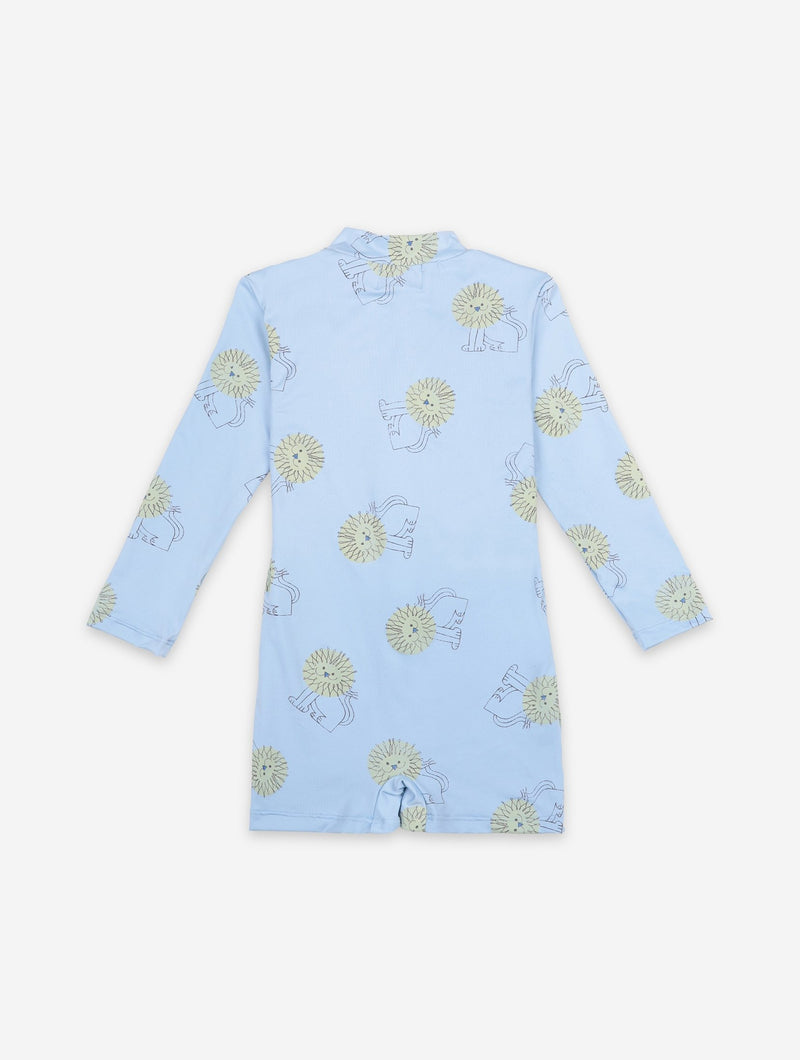 Bobo Choses pet a lion aop uimapuku, powder blue