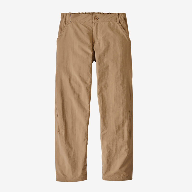 Patagonia boys' sunrise trail housut, mojave khaki