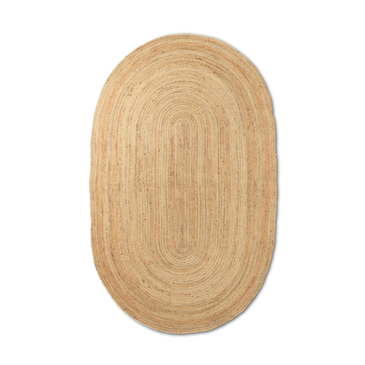 Ferm Living eternal oval juuttimatto, natural