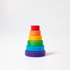 Grimm's small conical tower, rainbow