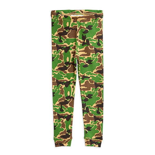 Mini Rodini camo leggarit, green