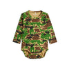 Mini Rodini camo body, green