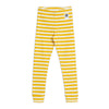 Mini Rodini stripe rib leggarit, yellow