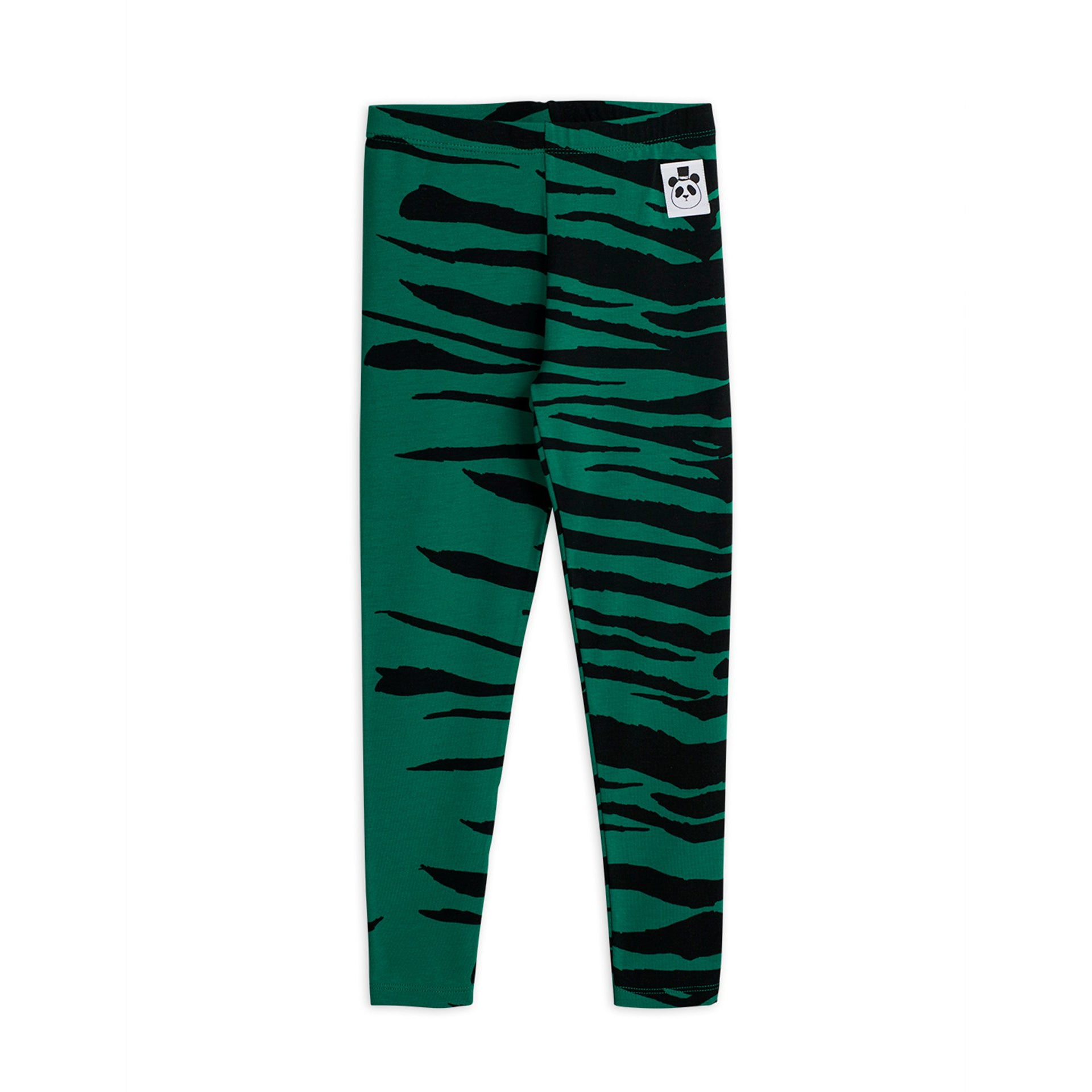 Mini Rodini tiger leggarit, green