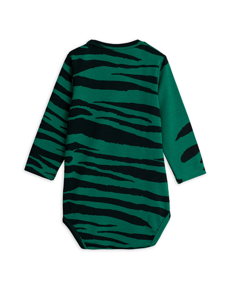 Mini Rodini tiger body, green