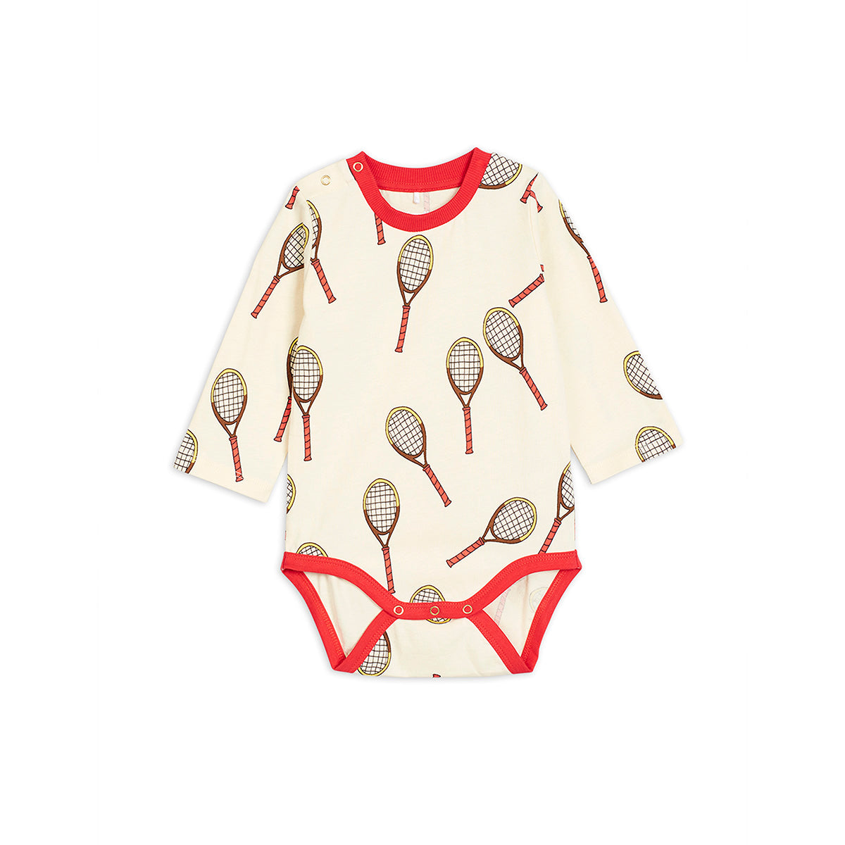 Mini Rodini tennis body, off white