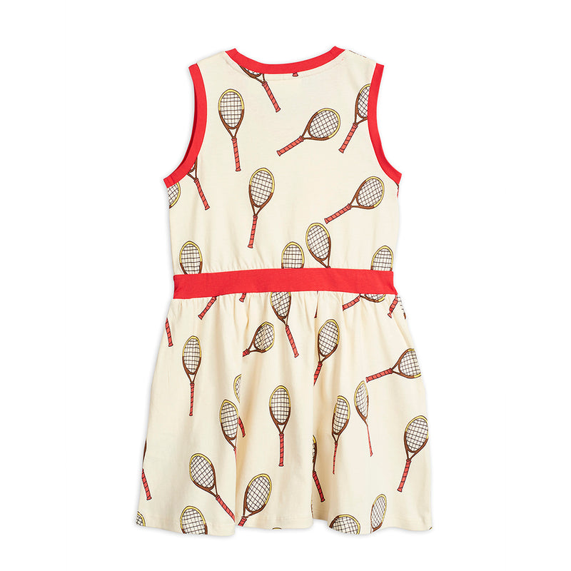 Mini Rodini tennis tank mekko, off white