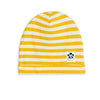 Mini Rodini stripe rib pipo, yellow