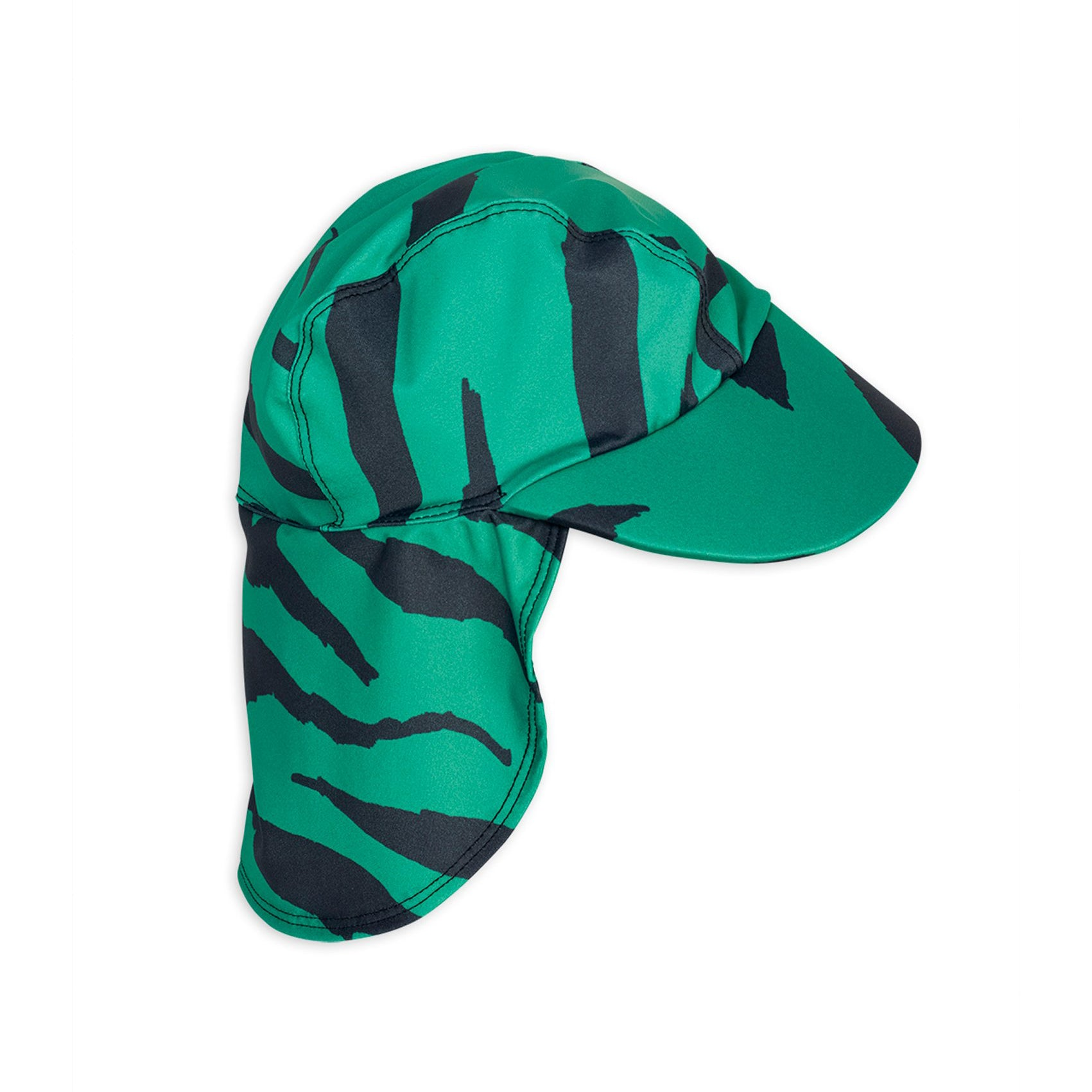 Mini Rodini tiger uimahattu, green