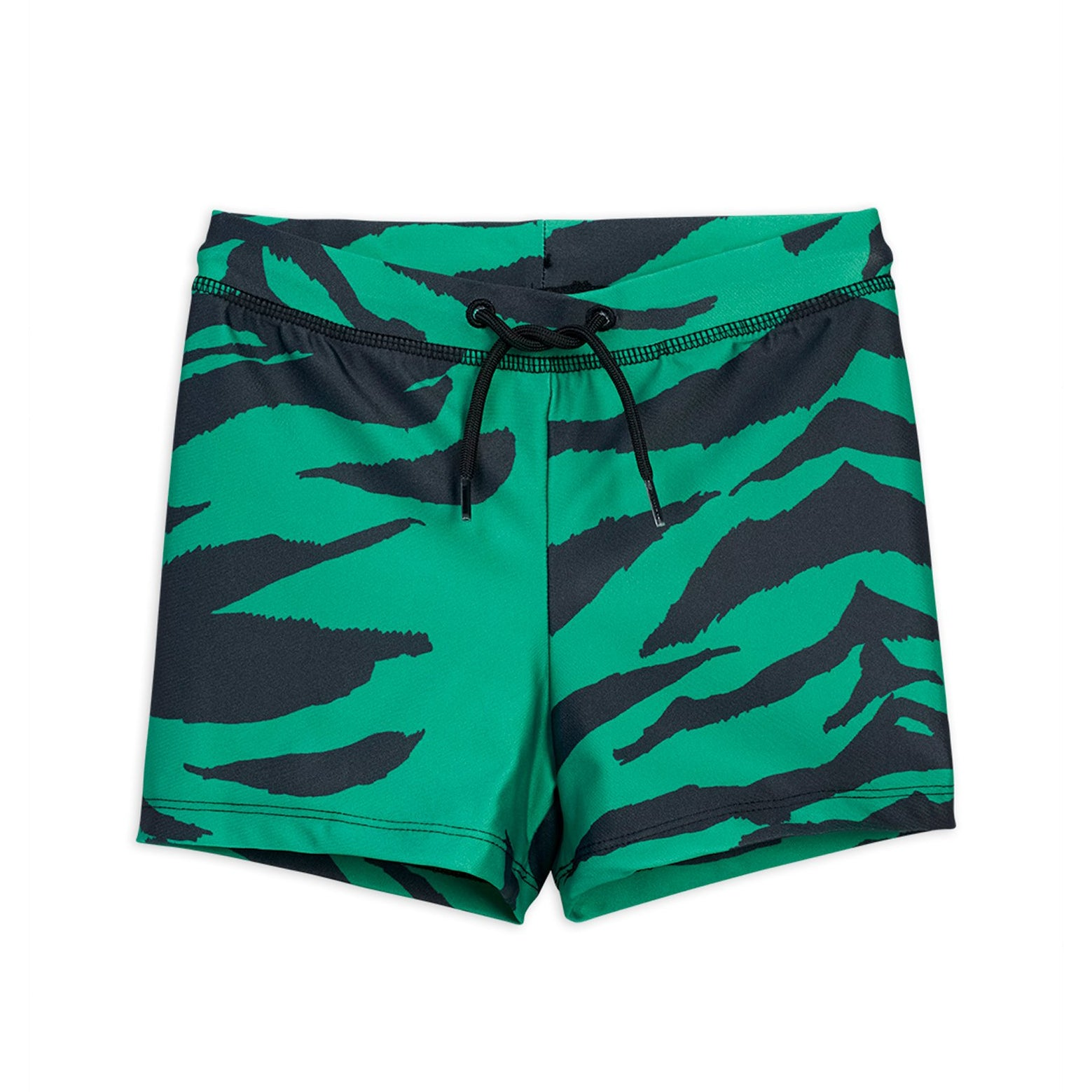 Mini Rodini tiger uimahousut, green