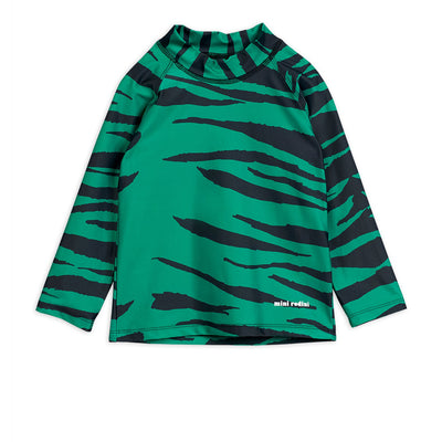 Mini Rodini tiger UV uimapaita, green