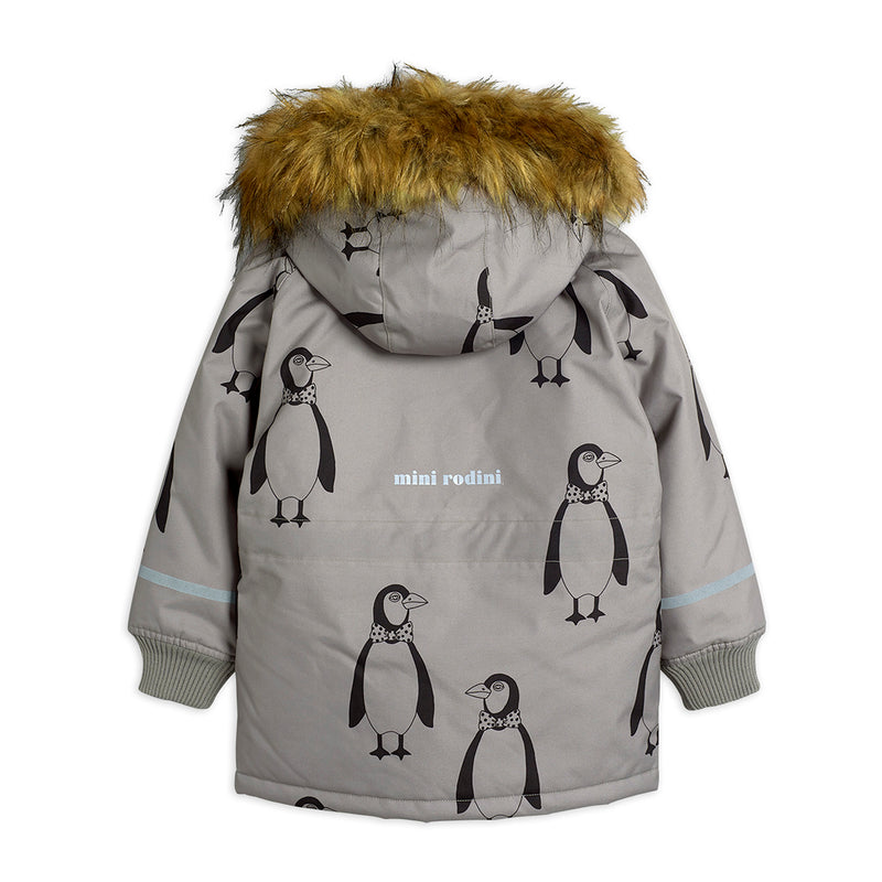 Mini Rodini K2 penguin talviparka, grey