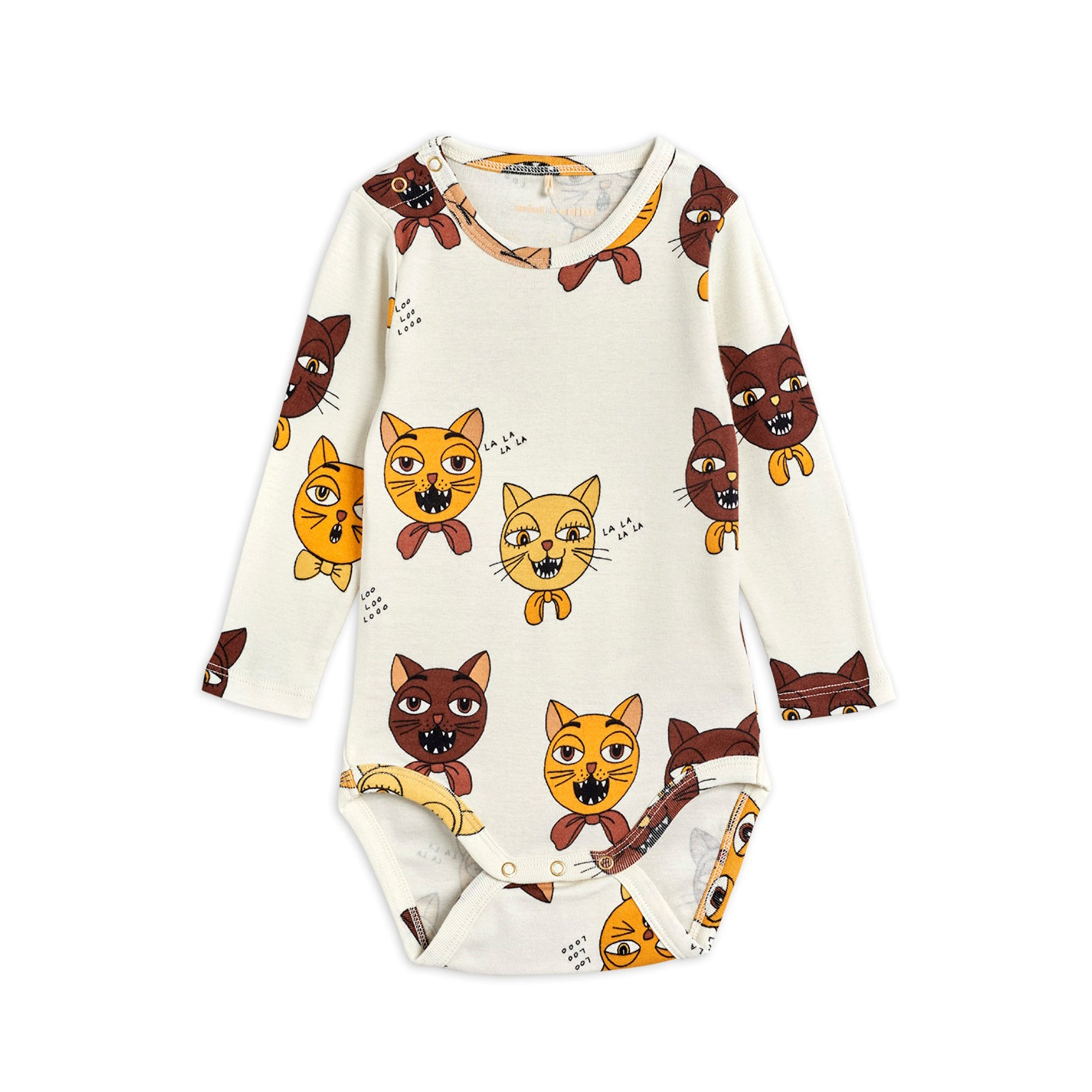 Mini Rodini cat choir body, off white