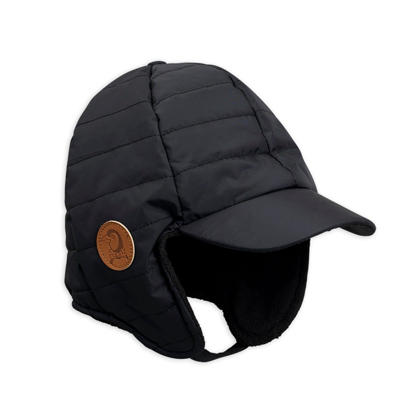 Mini Rodini insulator talvihattu, black