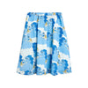 Mini Rodini unicorn noodles woven long hame, blue