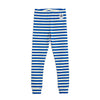 Mini Rodini stripe rib leggarit, blue
